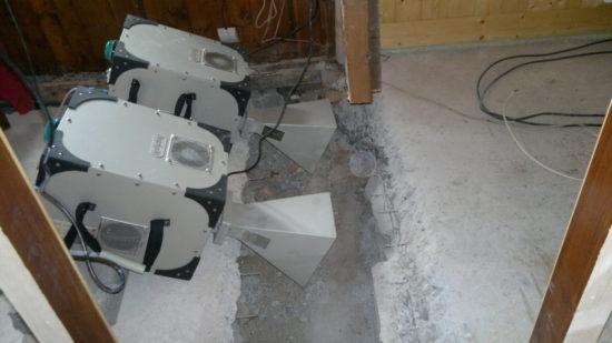 sanace vlhkého zdiva a dřeva pomocí mikrovlnné technologie