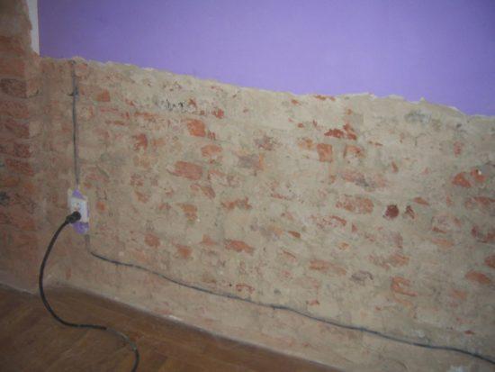 vysoušení zdí