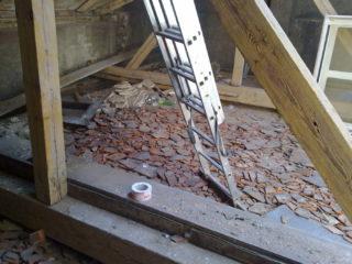 rekonstrukce krovů po napadení dřevokazným škůdcem