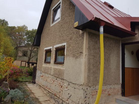 rekreační chata před rekonstrukcí