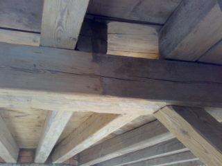 likvidace dřevokazných škůdců v dřevěném stropě