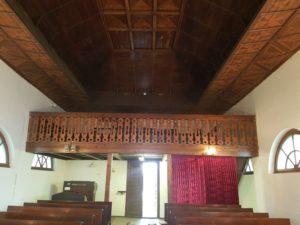 interiér husova sboru