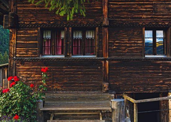 dřevěný srub