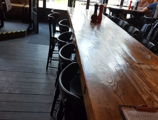 sanace stolu v pivovaru